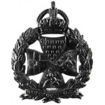 Inns Of Court O.T.C. Pre 1932 Blackened Cap Badge