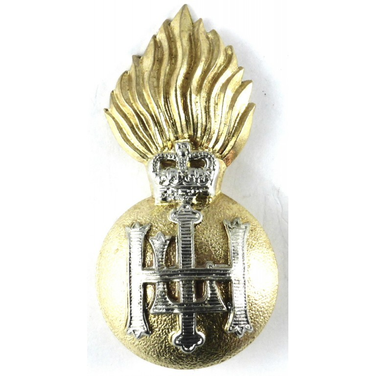 Royal Highland Fusiliers Bi Metal Cap Badge