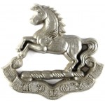 Kings Regiment  WW2 Plastic Economy Cap Badge