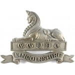 Lincolnshire Regiment  WW2 Plastic Economy Cap Badge