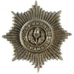 Cheshire Regiment WW2 Plastic Economy Cap Badge
