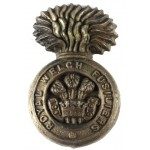 Royal Welch Fusiliers WW2 Plastic Economy Cap Badge