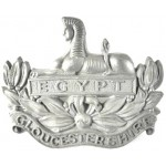 Gloucestershire Regiment WW2 Plastic Economy Cap Badge