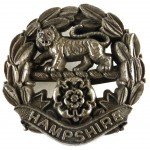 Hampshire Regiment WW2 Plastic Economy