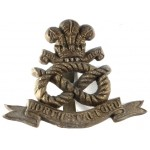 North Staffordshire Regt. WW2 Plastic Economy Cap Badge