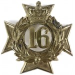 16th Foot Bedfordshire Regiment Pre 1881 Glengarry Badge