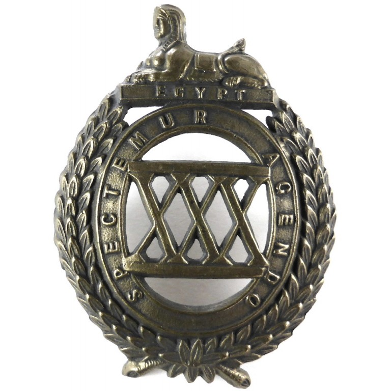 30th Foot West Lancashire Regiment Pre 1881 Glengarry Badge