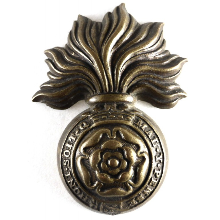 Royal Fusiliers Brass Imperial Crown