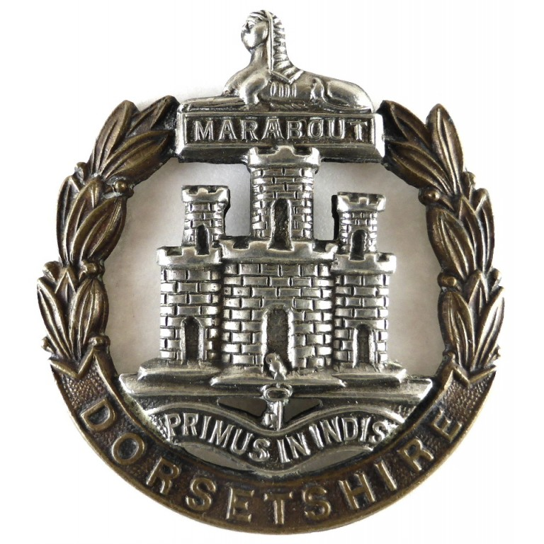 Dorsetshire Regiment Bi Metal Cap Badge