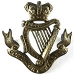 Connaught Rangers Victorian Brass Cap Badge