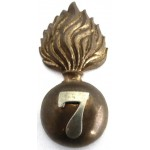 7th City Of London Regiment Bi Metal Cap Badge