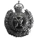 10th London Regiment Paddington Blackened Cap Badge