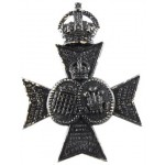 16th London Queens Westminsters Blackened Brass