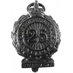 25th London Cyclists Bronzed Cap Badge