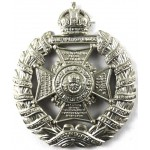 17th London Regiment Tower Hamlets White Metal Cap Badge