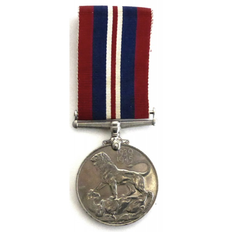 British War Medal Genuine Full Size WW2 Military Medal