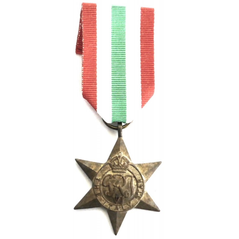 Italy Star Genuine Full Size WW2 Military Medals