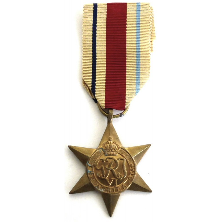 Africa Star Genuine Full Size WW2 Medal