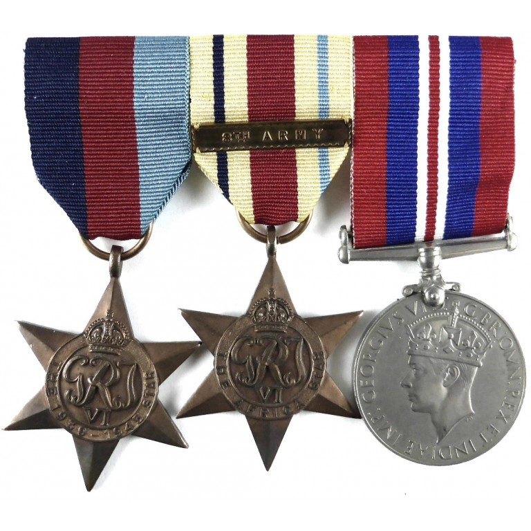 World War 2 Genuine Full Size Military Medals