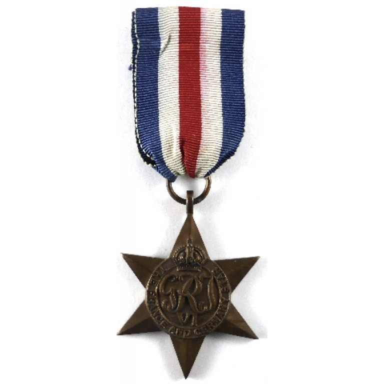 France & Germany Star Genuine Full Size WW2 Military Medals