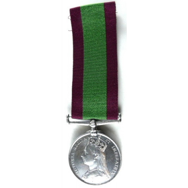Afghanistan Medal 1878-1880 Full Size to Conductor BO. CDt.