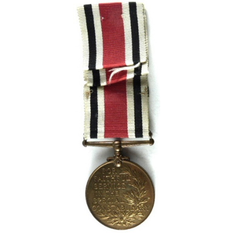 Special Constabulary Medal GVR Two Bar Full Size