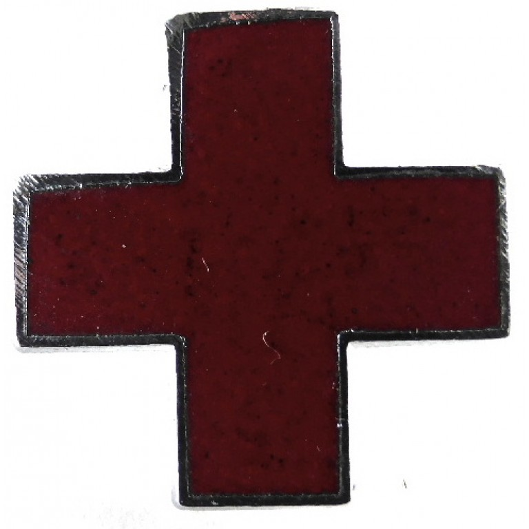 The British Red Cross Society Collar Badge