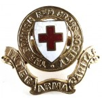 The British Red Cross Society Cap Badge
