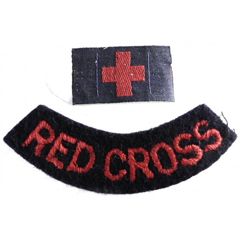 The British Red Cross Society Shoulder Badge