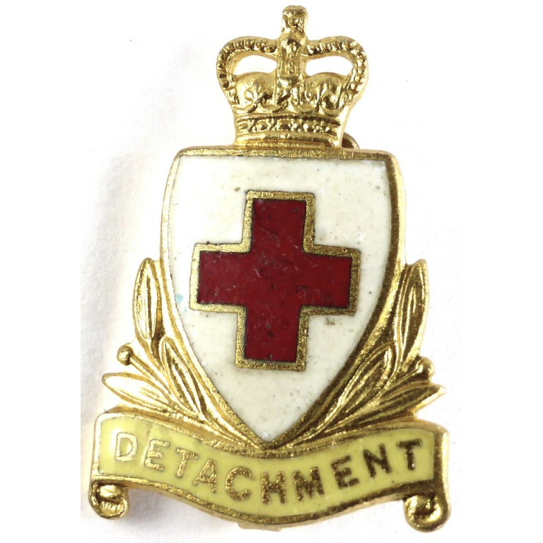 British Red Cross Society Detachment Lapel Badge