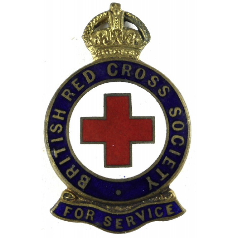 The British Red Cross Society Long Service Badge