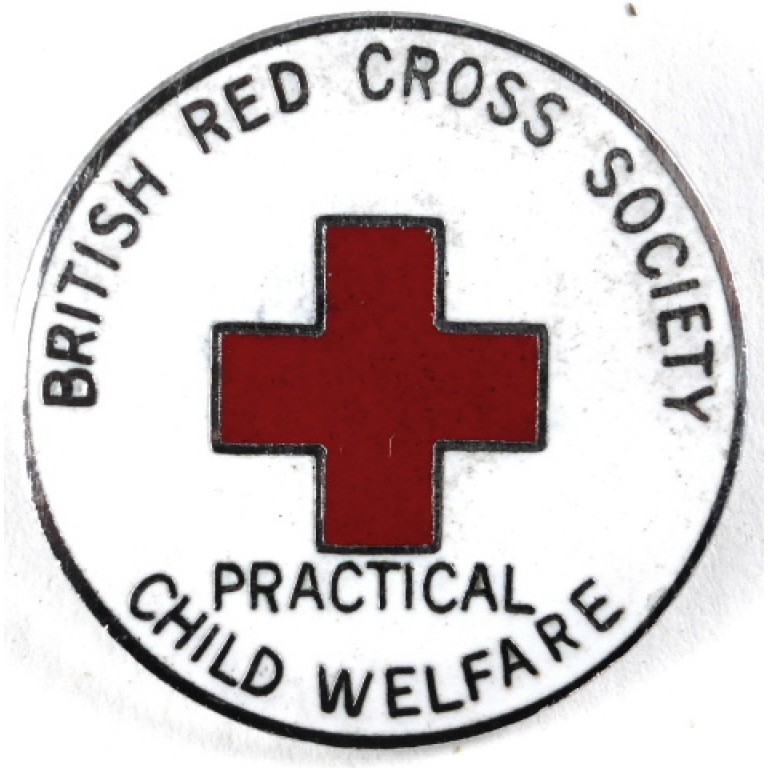 The British Red Cross Society Practical Child Welfare Badge