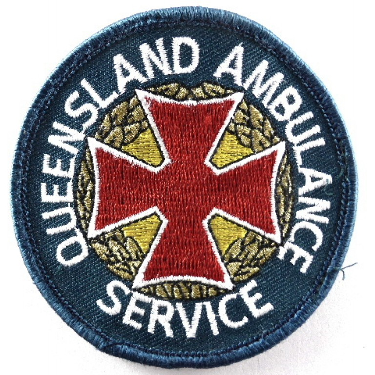 Queensland Ambulance Cloth Arm Patch Green