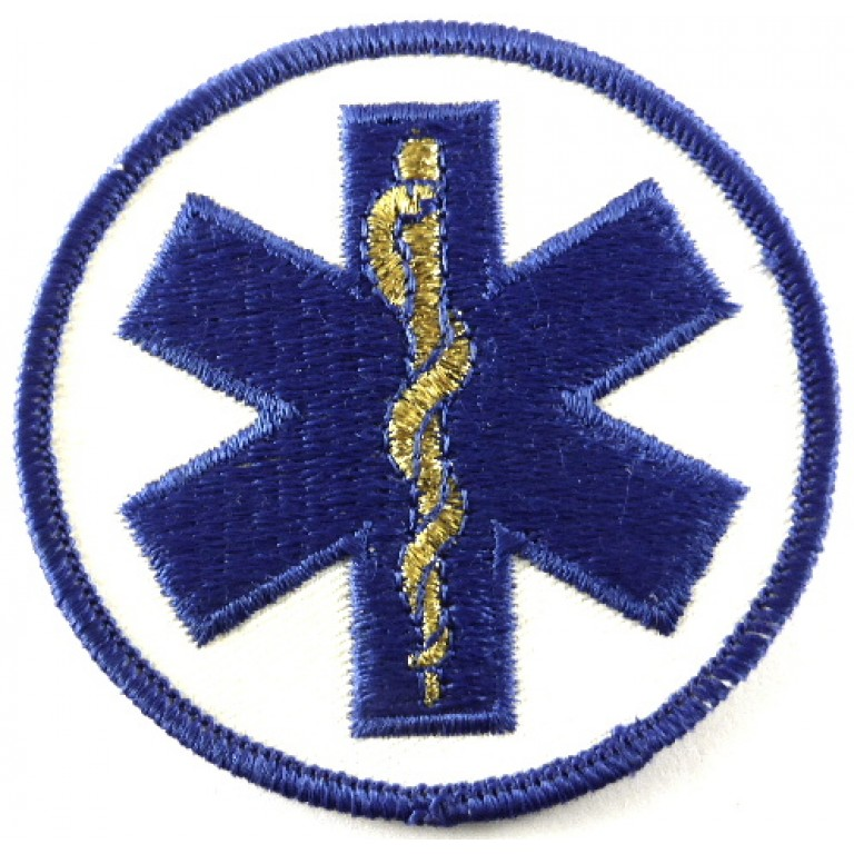 Medical Service Cloth/Wire Badge