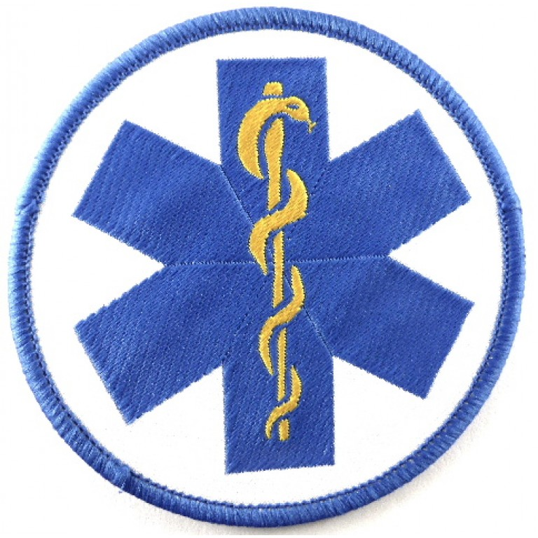 Medical Service Cloth Badge