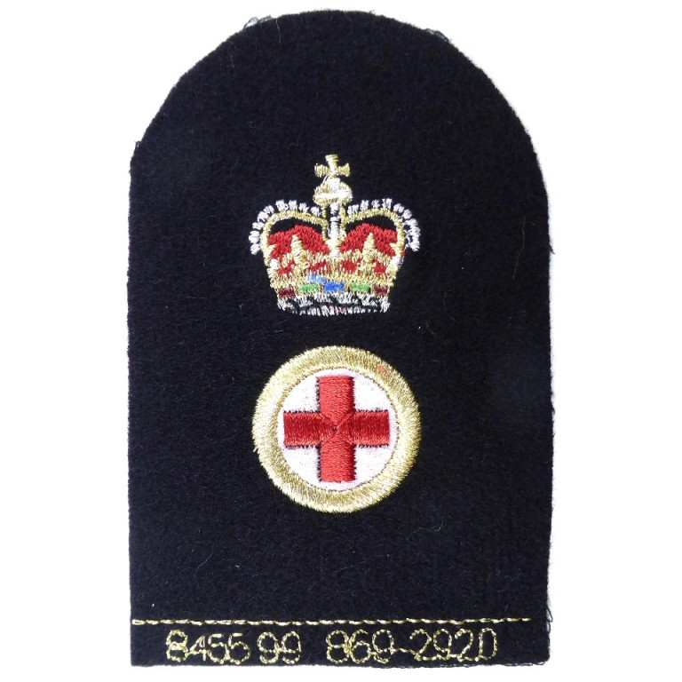 Royal Navy PO Chief Medical Assistant
