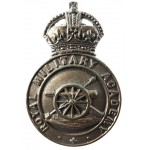 Royal Military Academy Officer Cadet Bronze Cap Badge