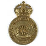 Royal Military Academy Officer Cadet Brass Cap Badge