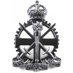 Army Apprentices School KC Chrome Cap Badge