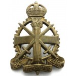 Army Apprentices School Brass Cap Badge