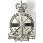 Army Apprentices School Silver Plated Shoulder Belt Badge