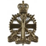 Army Apprentices School E11R Brass Cap Badge
