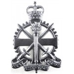 Army Apprentices School E11R Chrome Cap Badge