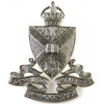 Edinburgh University Training Corps (TA) White Metal