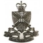 Edinburgh University Officers Training Corps White Metal
