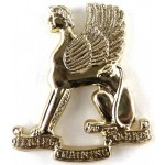 Leeds University OTC Anodised Aluminium Cap Badge