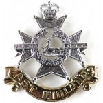 East Midlands University OTC Anodised Aluminium Cap Badge