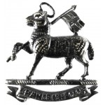 Cranleigh School CCF Blackened Brass Cap Badge