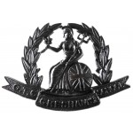 Gresham`s School OTC Bronze Cap Badge