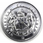 Birmingham Gas Department Chrome Button 26mm